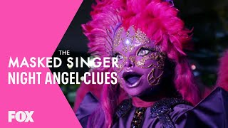 The Clues: Night Angel | Season 3 Ep. 16 | THE MASKED SINGER