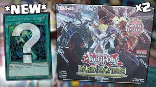 *NEW* YuGiOh DARK SAVIORS 1st Edition BOOSTER BOX OPENING x2! HUNT FOR SKY STRIKER ENGAGE!