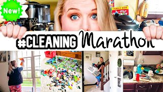 EXTREME CLEANING MARATHON | CLEAN WITH ME | CLEANING MOTIVATION