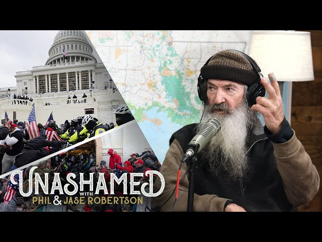 Phil Robertson\'s Answer to Capitol Violence and American Chaos | Ep 204