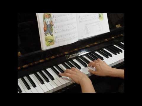 Swinging Along - John W. Schaum Piano Course A - The Red Book P.10-11 No.5