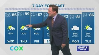 Weather: The Latest on Tropical Storm Cristobal