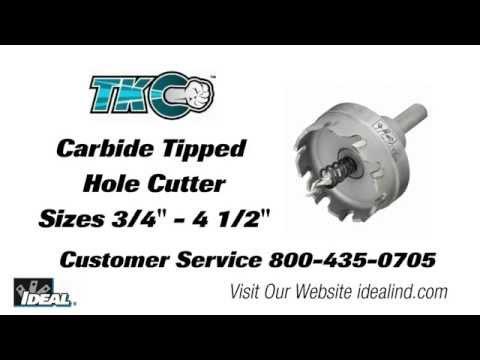 TKO™ Carbide Tipped Hole Cutter Video