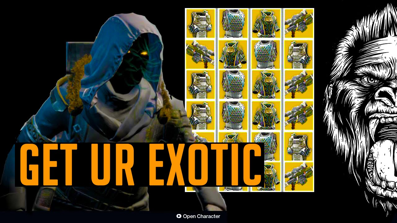 Destiny exotic weapons amp exotic armor get them before there gone