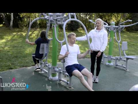Outdoor Gym Equipment - FLZ Chest Press