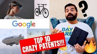 Top 10 Crazy Tech Patents Of Google, Amazon, Apple, Facebook and Microsoft!!!🔥🔥🔥