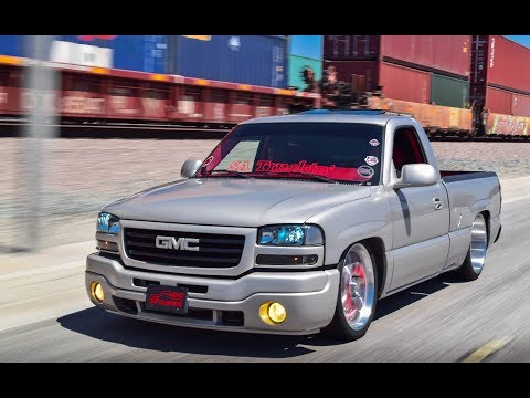 Silverado dropped on 24' billets | Doovi