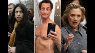 HUMA SOBBED OVER FBI INVESTIGATION INTO WEINERS SEXTING SCANDAL!