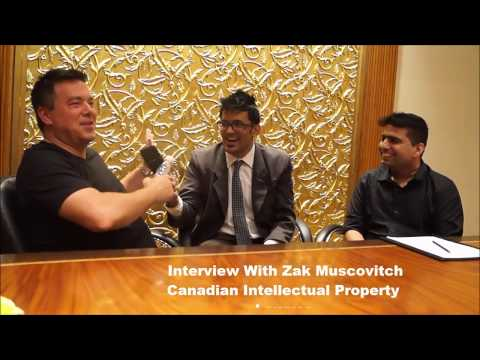 Zak Muscovitch Canadian Intellectual Property Lawyer Talking About Domain Industry