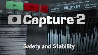 PreSonus—Capture 2—Safety and Stability