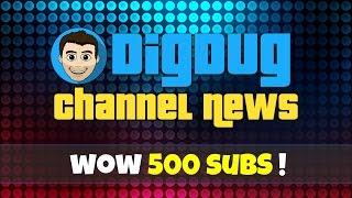 DigDugPlays Channel News: 4:500 Subs, e como criar uma camisa Roblox no Photoshop tutorial