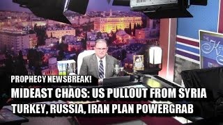 Chaos! US Pullout from Syria; TurkeyRussiaIran Powergrab