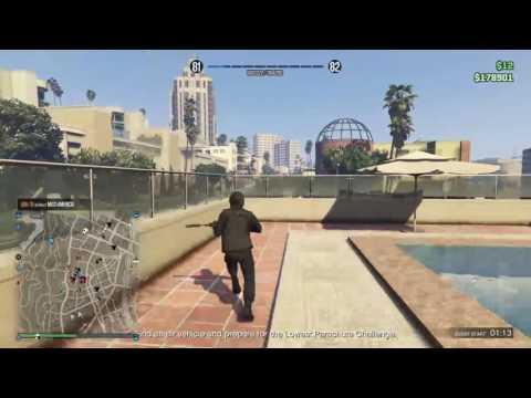 Gta5 Online Heist Glitch PS4 Broadcast(Malaysia)