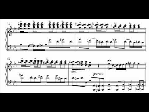 Lane plays Moore - Beethoven Sonata Parody Audio + Sheet music