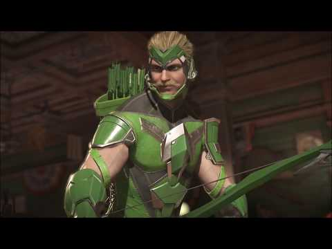 Injustice 2 Green Arrow Nth Metal Archer Gear Set 2nd Piece Nth Metal Blade Cargoes