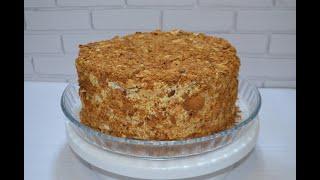 """Торт """" Наполеон """" / Нереально вкусный рецепт!"""