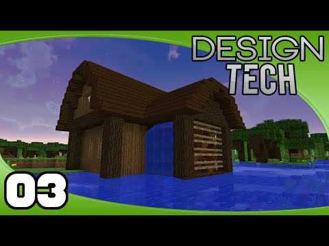 DesignTech - Ep. 3: Water Wheel Power!