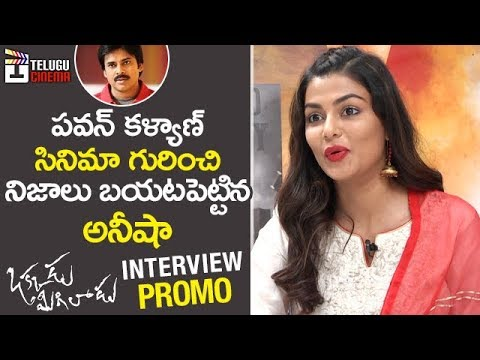 Anisha Ambrose about Missing Pawan Kalyan Movie | Okkadu Migiladu | Anisha Ambrose Interview PROMO