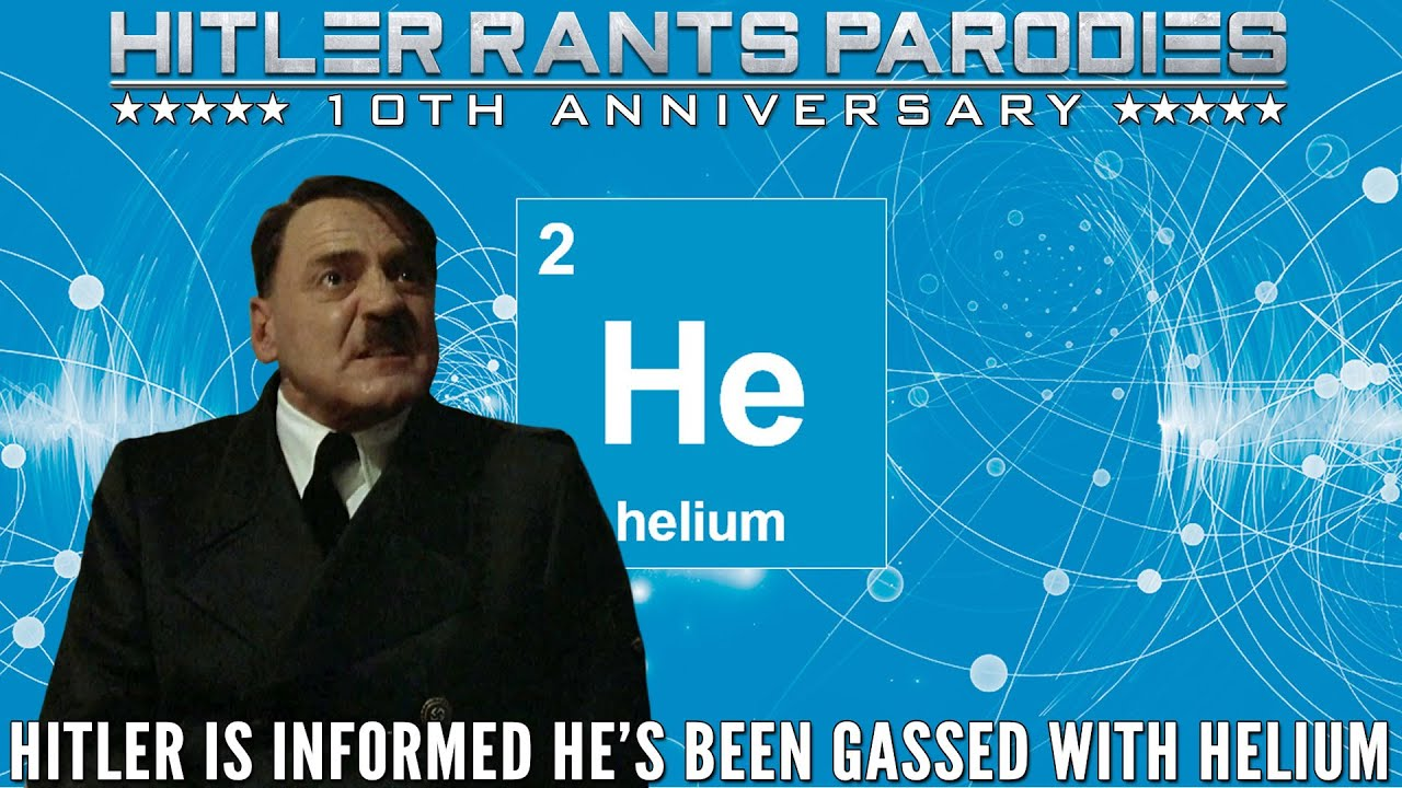 Hitler is informed he's been gassed with helium