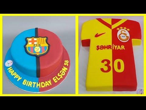 🔵 İdman tortları | Futbol tortları |Tortların bəzədilməsi | qeyri adi tortlar |