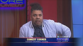Comedian Orlando Leyba on MORE FOX5