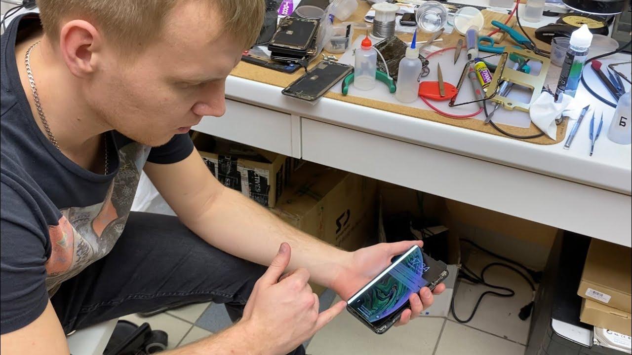 Как мастер попал на экран iPhone XS MAX - риски при ремонте! ⚠️