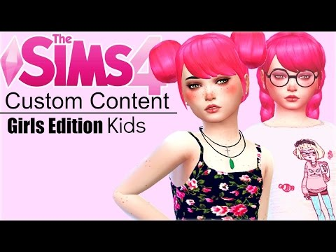 The Sims 4 Custom Content Kids: Girls from YouTube · Duration:  9 minutes 19 seconds