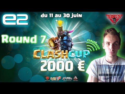Clash Cup  Online 2017 | Round 7 : PAPAPIX vs Clash Girl | Clash of Clans FR