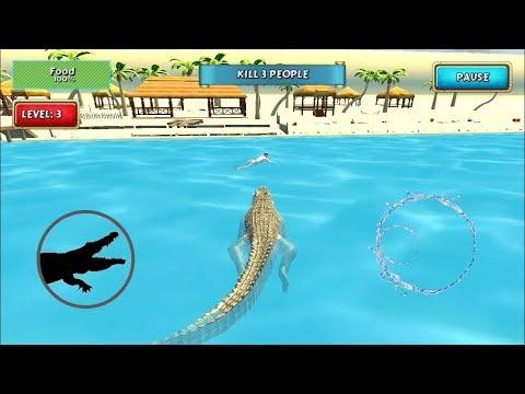 crocodile-simulator-beach-hunt-|-android-gameplay
