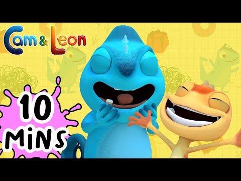 Hilarious Children Cartoon   10 Minutes Compilation #4   Cam & Leon