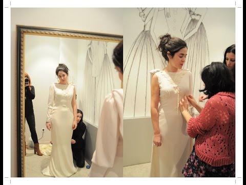 Consejos para la prueba de vestido de novia
