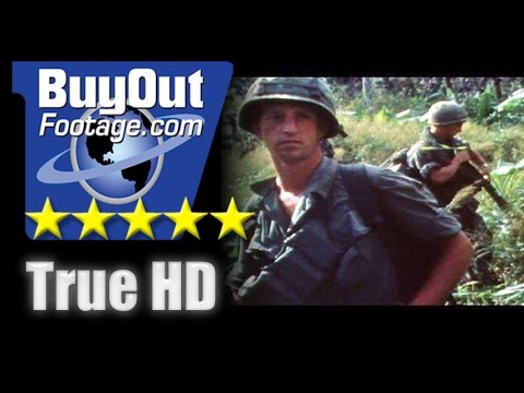 HD Historic Stock Footage Vietnam War 1970 ASSAULT ON NUI BA DEN MOUNTAIN