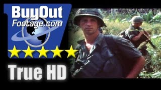 HD Stock Footage Vietnam War 1970 Assault on Nui Ba Den Mountain