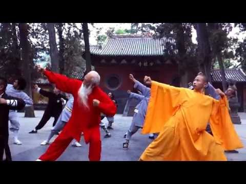 Songshan Shaolin Traditional Wushu Academy for the 1st Shaolin Kung Fu Festival in Greece 2015