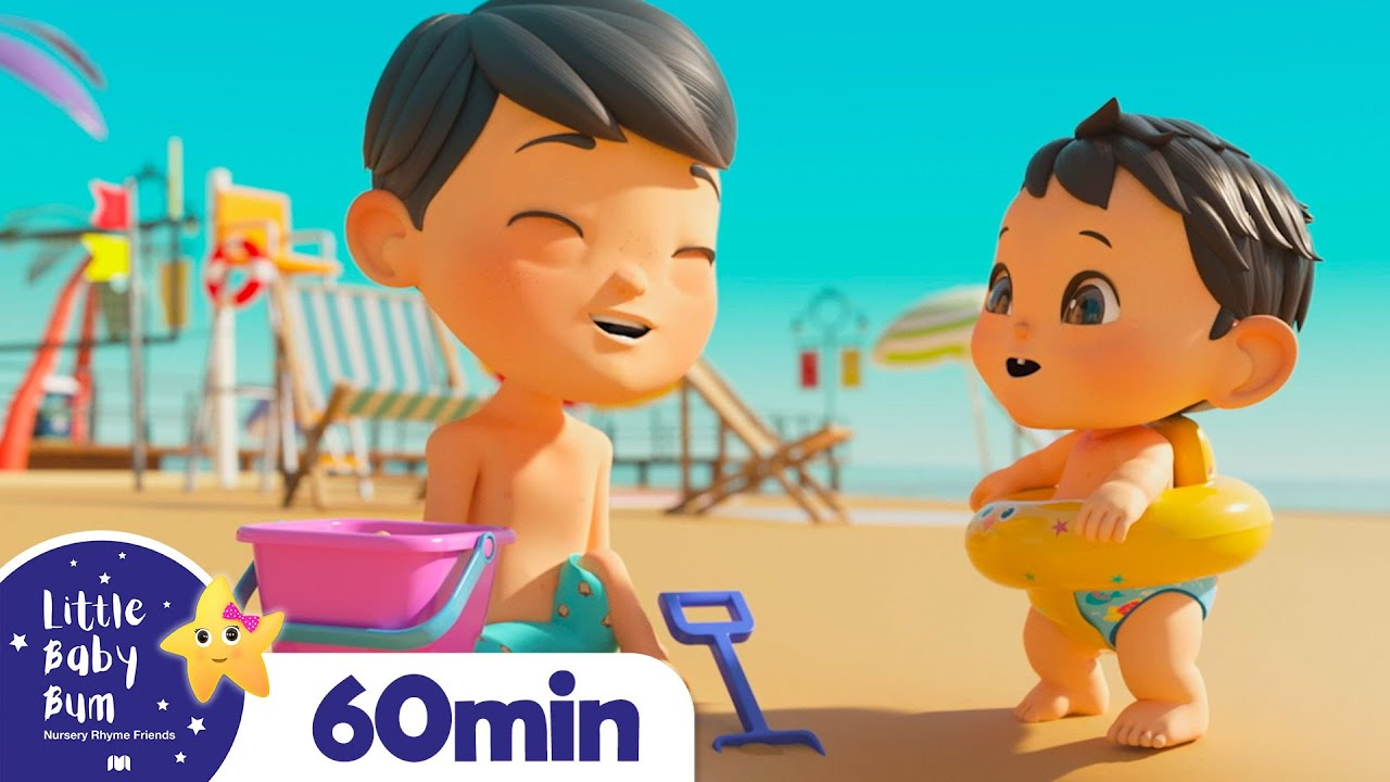 Let Go To The BEACH! + More Lullabies | Nap Time Songs For Kids | Little Baby Bum