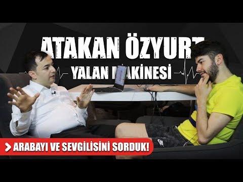 ATAKAN ÖZYURT'A ARABAYI VE SEVGİLİSİNİ SORDUK ! | BANA YALAN SÖYLE