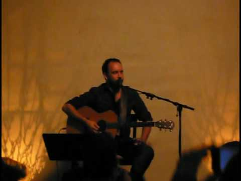 Dave Matthews at Mondavi Vineyards 11 13 2009