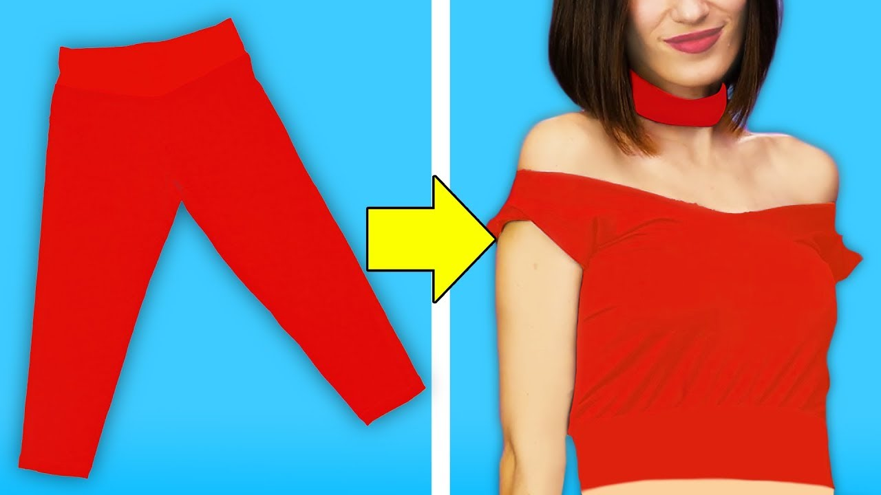 [VIDEO] - 33 MUST KNOW CLOTHING HACKS FOR GIRLS 8