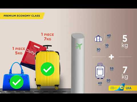 New Cabin Baggage Policy On Flights Of Ukraine International Airlines