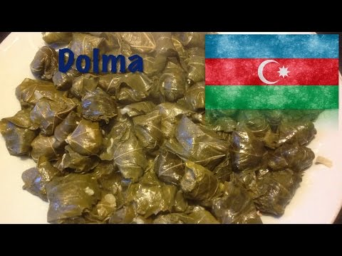 How to cook Dolma (The Azerbaijani dish)