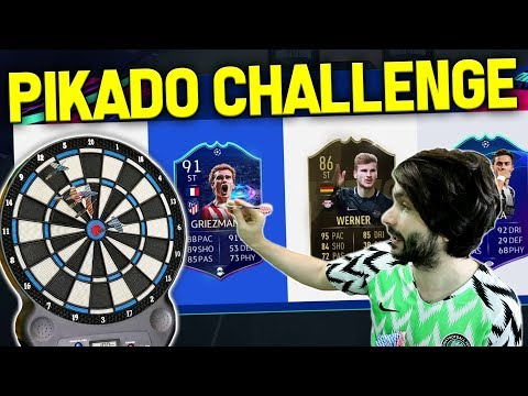 PIKADO DRAFT CHALLENGE! FIFA 19