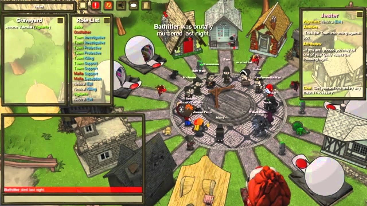 Town Of Salem 5 Common Jester Tactics That Never Work Youtube