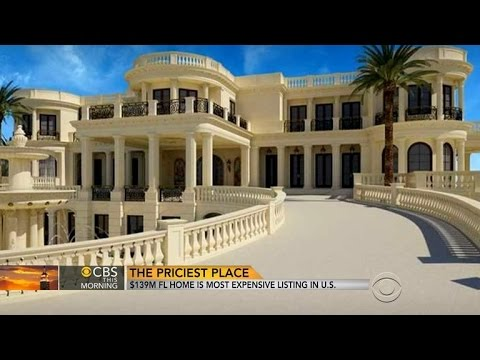 $139M Florida home is most expensive listing in U.S.