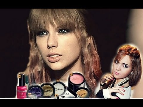 Taylor Swift - I Knew You Were Trouble Make Up Tutorial