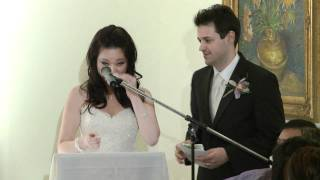 Bride's Speech A Wedding at Glenerin Inn The Collegeway Mississauga Toronto