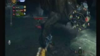 [Monster Hunter Tri] Jugando con fuego - Hunting the Deviljho part 1