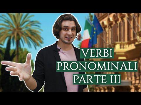 Местоименные глаголы, часть 3 | verbi pronominali | итальянский язык
