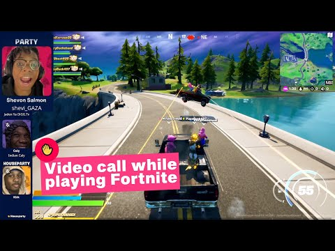 How To Use New Fortnite House Party Feature On PS5 & PC (Video Chat)