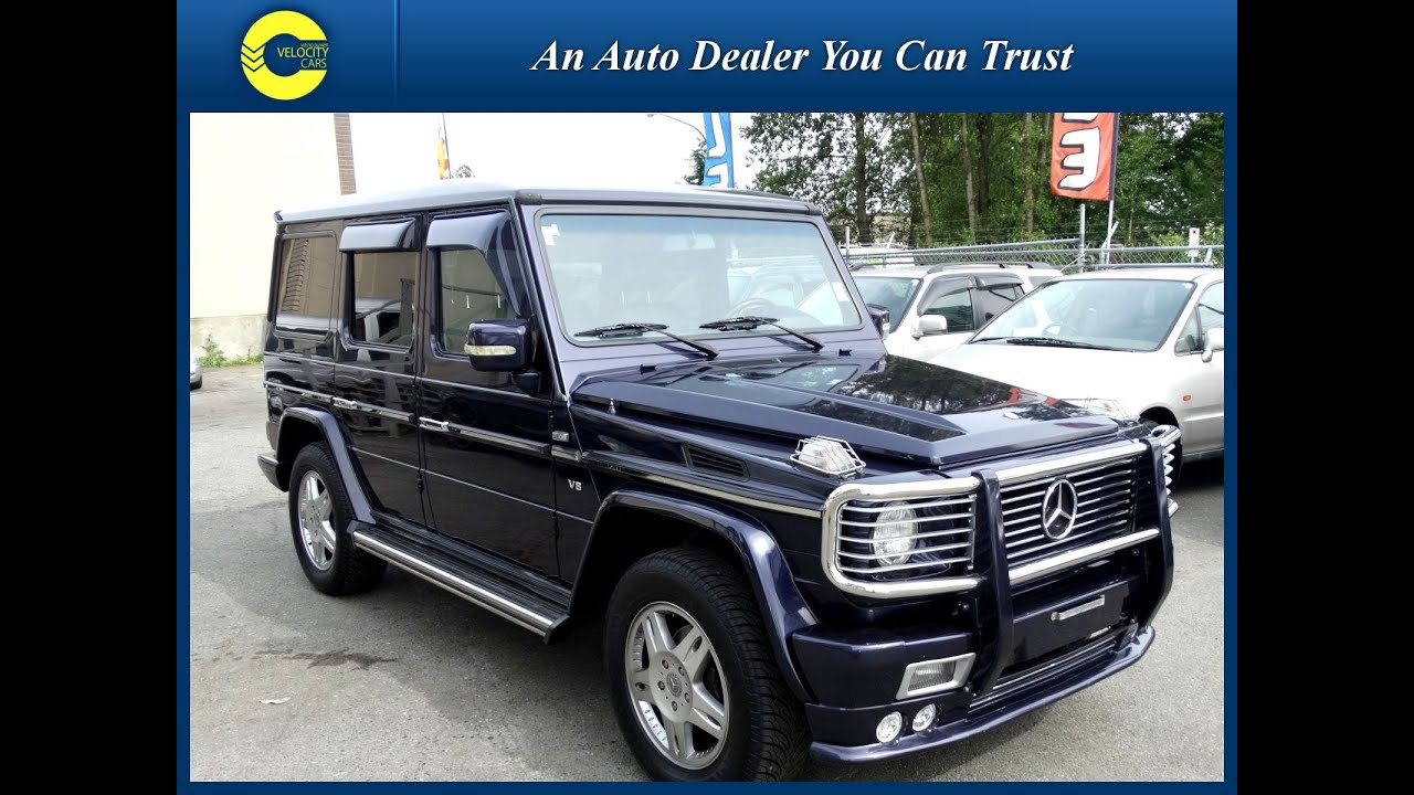 1997 mercedes benz g class g500 long luxury 4x4 104k 39 s for sale vancouver youtube. Black Bedroom Furniture Sets. Home Design Ideas