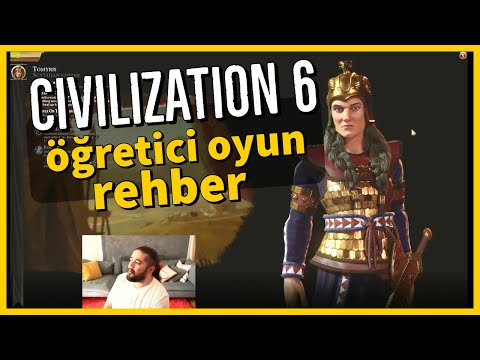 Civilization 6 - Öğretici Oyun, Yeni Başlayanlara - Bölüm 01